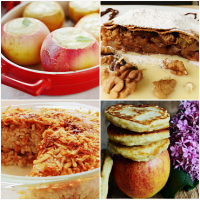 Apple dishes - the most delicious recipes for apple desserts