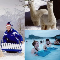 Winter fun - an unusual vacation in different countries of the world